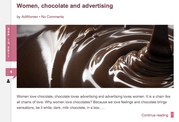 Ad Women - Martha Tolosa - Chocolate
