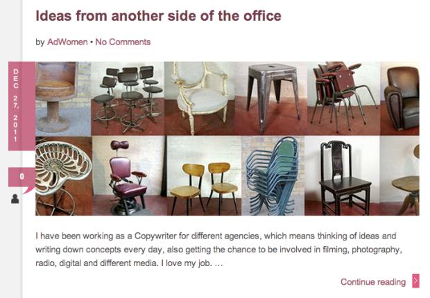 Ad Women - Martha Tolosa - Chairs